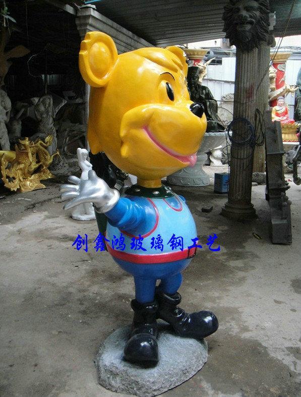 雕塑/卡通雕塑 小龙人雕塑玻璃钢雕塑泡沫雕塑泡沫雕刻厂家雕塑图片