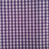 供应竹纤维色织小格衬衫面料