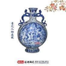 供应景德镇青花瓷工艺品粉彩瓷工艺品高档商务礼品陶瓷纪念品收藏品