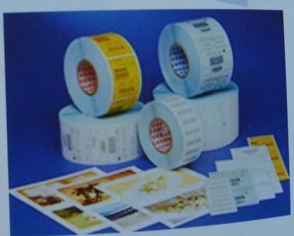 供应青岛生产珠光膜不干胶标签