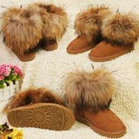 温州雪地靴批发时尚中筒女士雪地靴