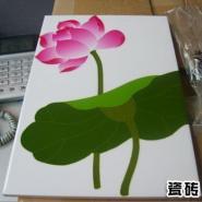 瓷砖地板表面彩印/数码彩印机图片
