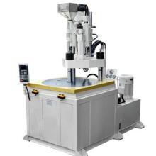 供应高效率金属包胶专用转盘立式注塑机/多下模立式转盘注塑机效率更高