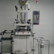 供应金属插件包胶专用立式注塑成型机/立式注射机专业生产嵌件注塑成型