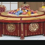 南阳音乐喷泉电动餐桌图片