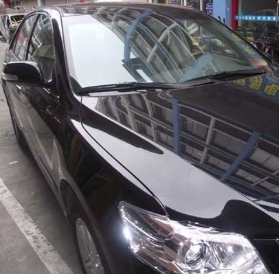 丰田凯美瑞贴膜凯美瑞汽车隔热膜图片高清图片