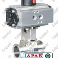 供应气动-电动-手动不锈钢卫生级蝶阀LPC12图片