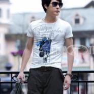 韩版短袖T恤批发全国最便宜的服装图片