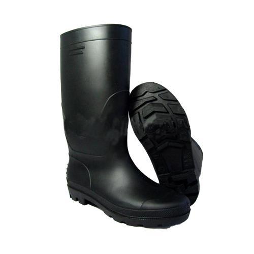 生产供应黑色钢头安全雨鞋