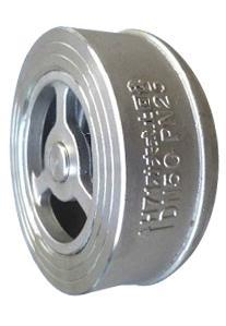 不锈钢对夹式止回阀 h71单向阀图片/不锈钢对夹式止回阀 h71单向阀样板图 (3)
