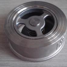 厂家专业生产卫生级不锈钢对夹式止回阀 h71单向阀图片