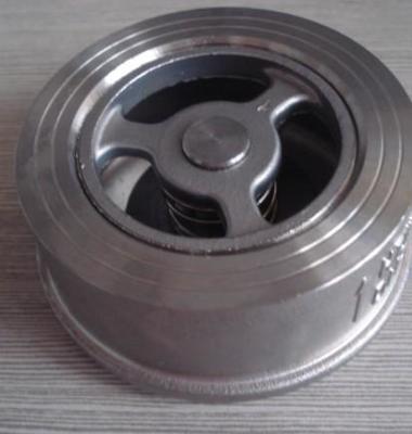 不锈钢对夹式止回阀 h71单向阀图片/不锈钢对夹式止回阀 h71单向阀样板图 (1)