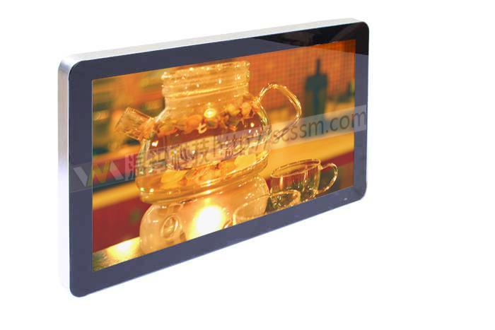 供应温玛科技32寸苹果款高清广告机 上海壁挂广告机 32寸楼宇广告机