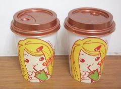 供应各种咖啡杯奶茶杯加工图案