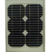 10W单晶硅太阳能电池板图片