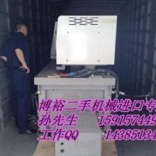 供应进口日本二手旧橡胶贴合机进口报关图片