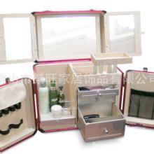 供应美容美甲工具展示箱收纳箱 日韩多层化妆品护肤品箱 专业彩妆箱