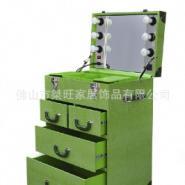 PU化妆台化妆柜展示箱收纳箱图片