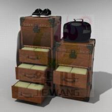供应仿古复古旅行皮箱陈列道具店铺道具 服装/拍摄店面装修装饰品批发