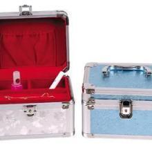 上海高档PU拉杆箱 PU玉器宝石珠宝展示箱 铂金白银钻石珠宝收纳箱批发