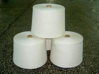 气流纺漂白再生10S棉纱棉线图片