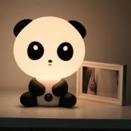 可爱功夫熊猫卡通台灯图片