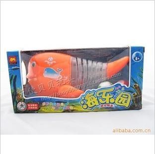 万向吹球电动鱼图片/万向吹球电动鱼样板图 (1)