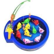 儿童玩具电动钓鱼盘游戏图片
