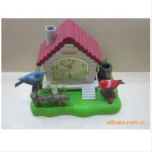 树脂声控鸟,521双鸟声控,玩具工艺摆饰 声控鸟供应