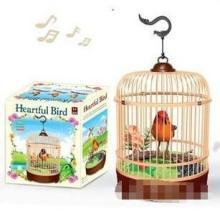 供应西骑士电动鸟玩具鸟声控 跳舞唱歌鸟仿真鸟