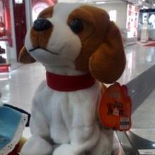音乐小狗 电动毛绒玩具 声控 智能电子声控狗