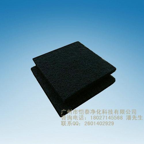 供应10MM活性炭空气过滤棉