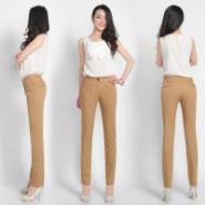 高腰裤哈伦裤铅笔裤直筒裤图片