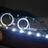 09款福克斯双光透镜双氙气灯天使眼图片
