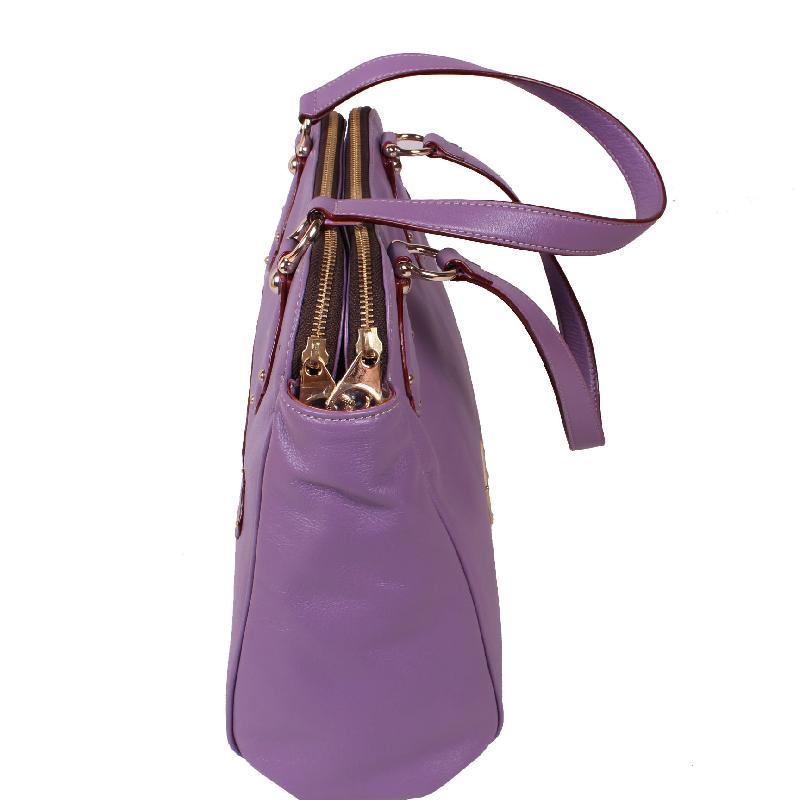 女士包包图片|女士包包样板图|蝴蝶鱼紫色女士包包
