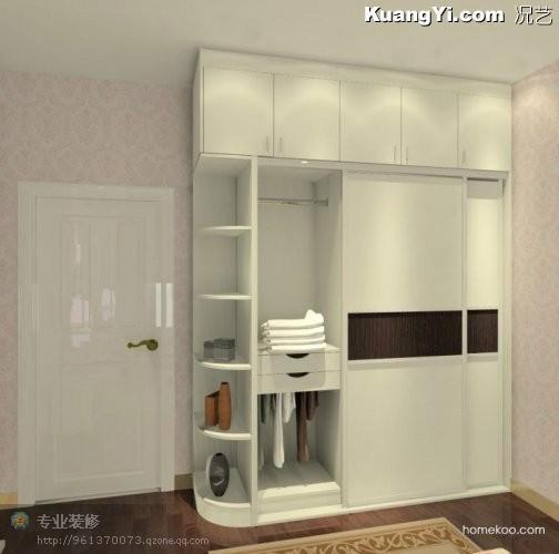 供应桂林板式家具衣柜厂家直销供应衣柜图片
