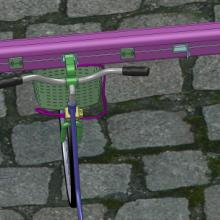 智能自行车锁