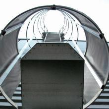 供应用于酒店大堂|会所|KTV的镀锌钢爬梯和钢楼梯批发