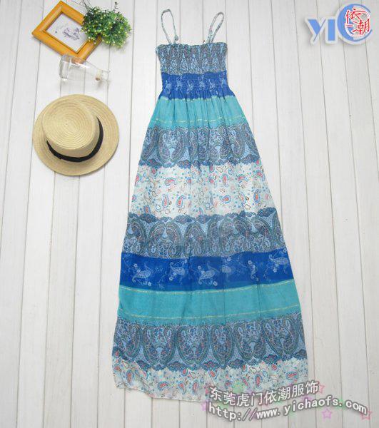 波西米亚长裙图片|波西米亚长裙样板图|波西米亚长裙