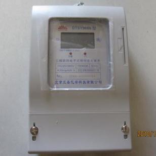 内蒙古插卡阶梯电价电表图片