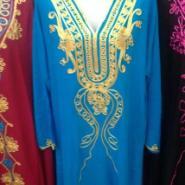 供应生产穆斯林长袍/伊斯兰民族服饰/穆斯林绣花女袍