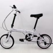 超好骑自行车14寸折叠车折叠自行车图片