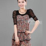 日韩风格甜美可爱连衣裙厂家批发图片
