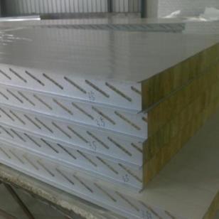 玻璃丝棉彩钢压型墙面板图片