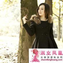 2012秋冬新款代理韩版保暖棉衣外套加盟费女装修身大衣毛连帽短款外套批发