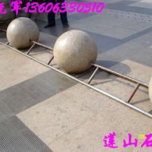 花岗岩石球,花岗岩路障石球,大理石球,挡路石球批发