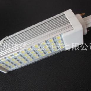G24方形横插灯7W高散热效果40珠图片