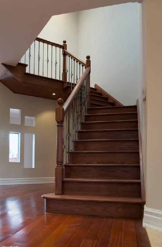 木楼梯装修效果图片 装信通网效果图大全