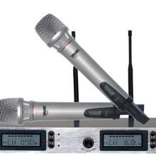 供应锦声音响周边设备话筒系列演出型U段无线麦克风话筒音响设备周边产品批发
