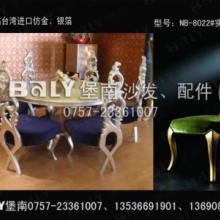 实木雕花厂供应西安豪华欧式实木餐椅雕花酒店家具
